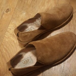 {UGGs} Camellia Suede Slip Ons 1009236